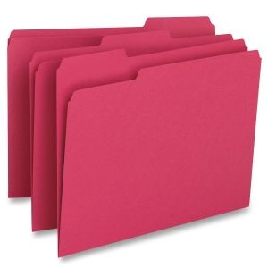 Coloured Top Tab File Folders