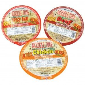 Prepared & Microwaveable Meals