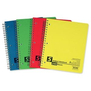 Memo / Subject Notebooks