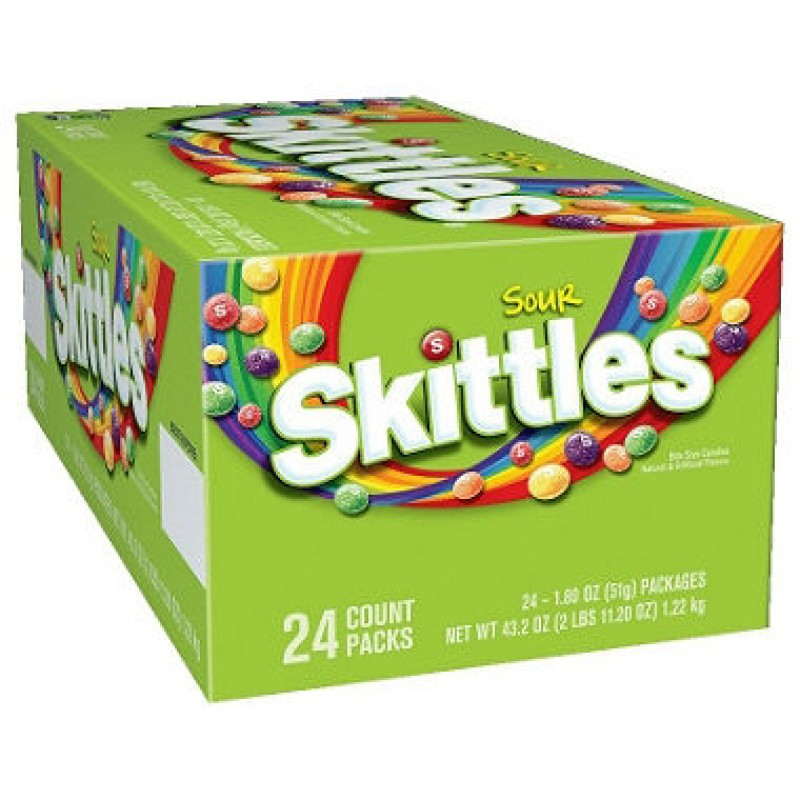 Skittles Sour Candy 24/51 g