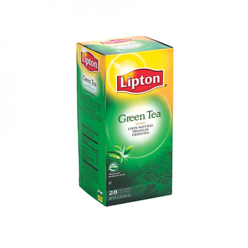 Lipton Green Tea Bags 28 ct