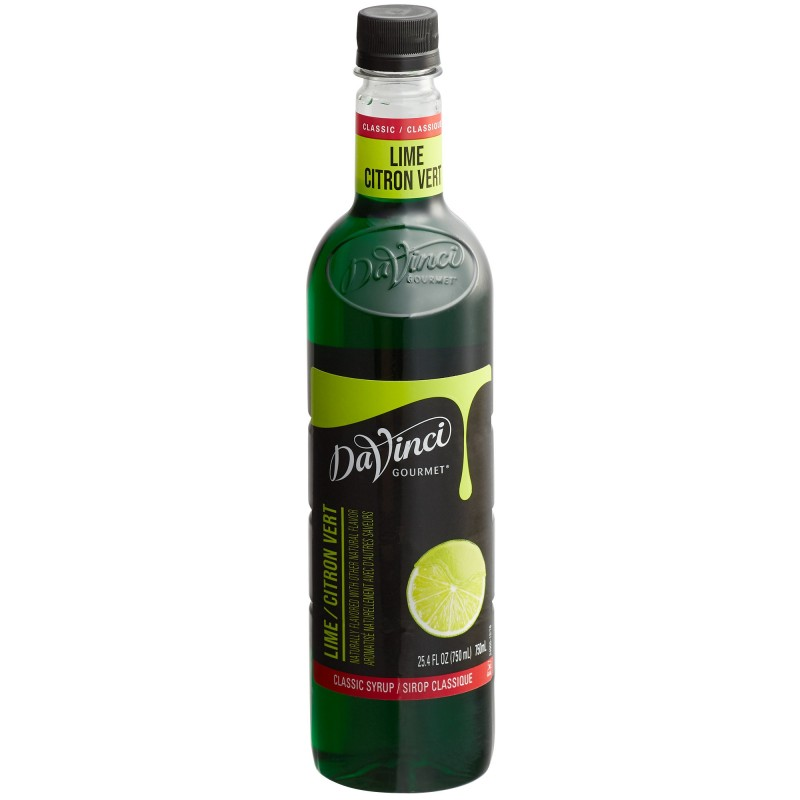 DaVinci Gourmet Classic Lime Syrup 750 mL