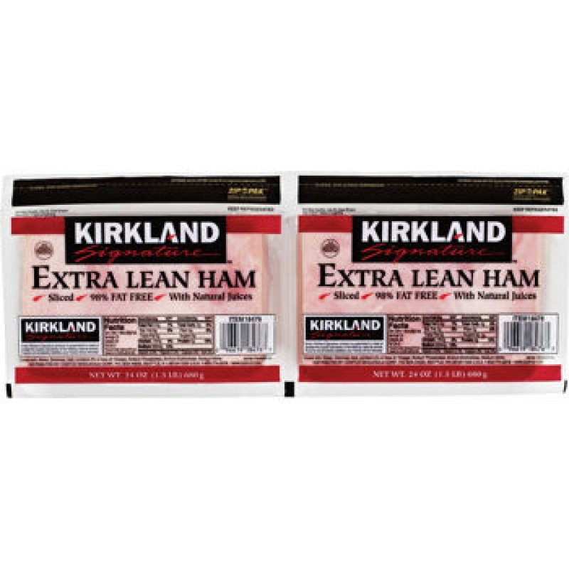 Kirkland Signature Extra Lean Ham - 2 Pack / 500 Grams