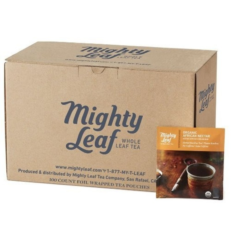 Mighty Leaf Organic African Nectar Tea - 100/Carton