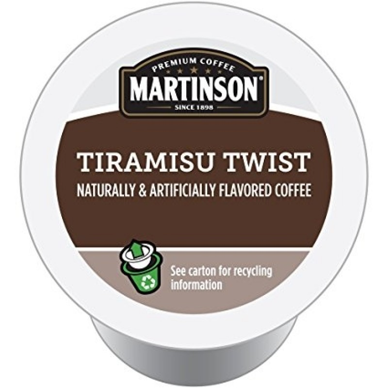 Martinson Tiramisu Twist Coffee RealCups 24/Box