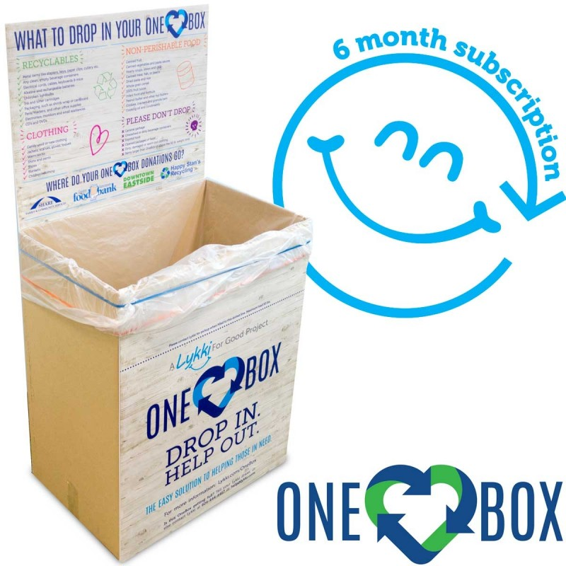 OneBox Give Back Program - 6 Month Subscription