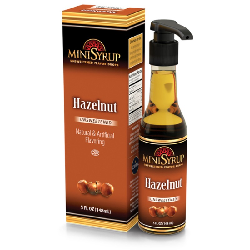 Zavida Hazelnut Mini Syrup 145 mL