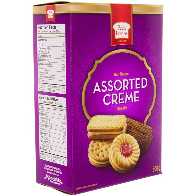 Peek Freans Assorted Creme Cookies 300g