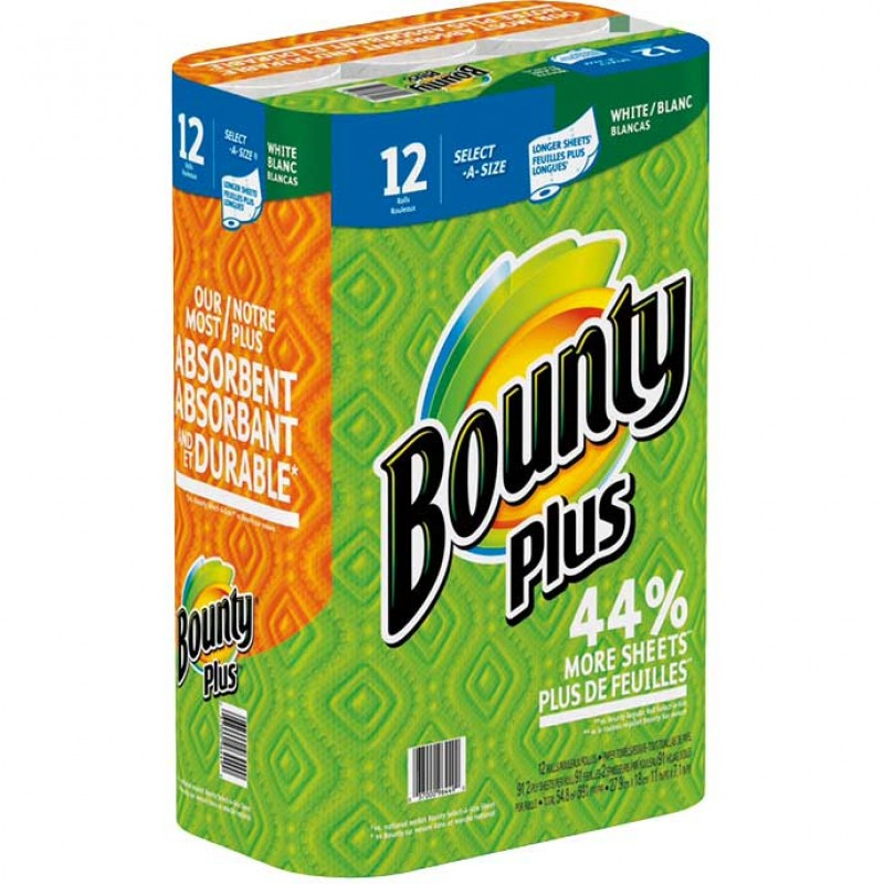Bounty Plus Select A Size Paper Towels