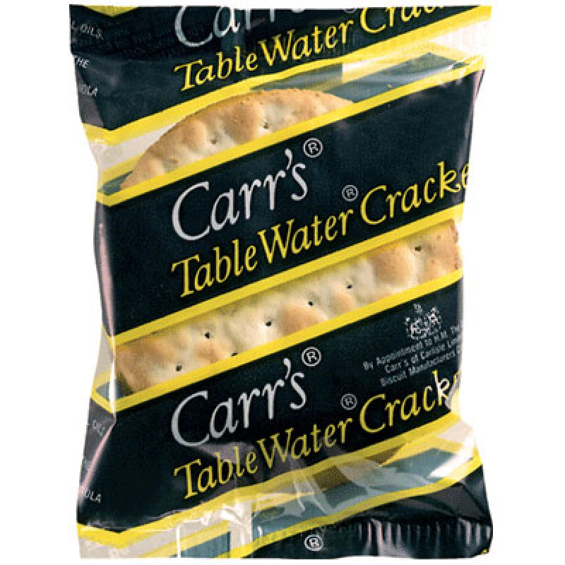 Carr's Table Water Crackers - Portion Pack - 200/3pk