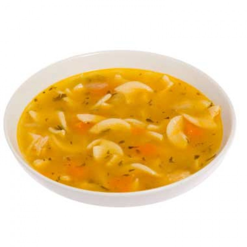Campbell's Signature Roasted Chicken Noodle with Herbs Soup - 4/1.81kg