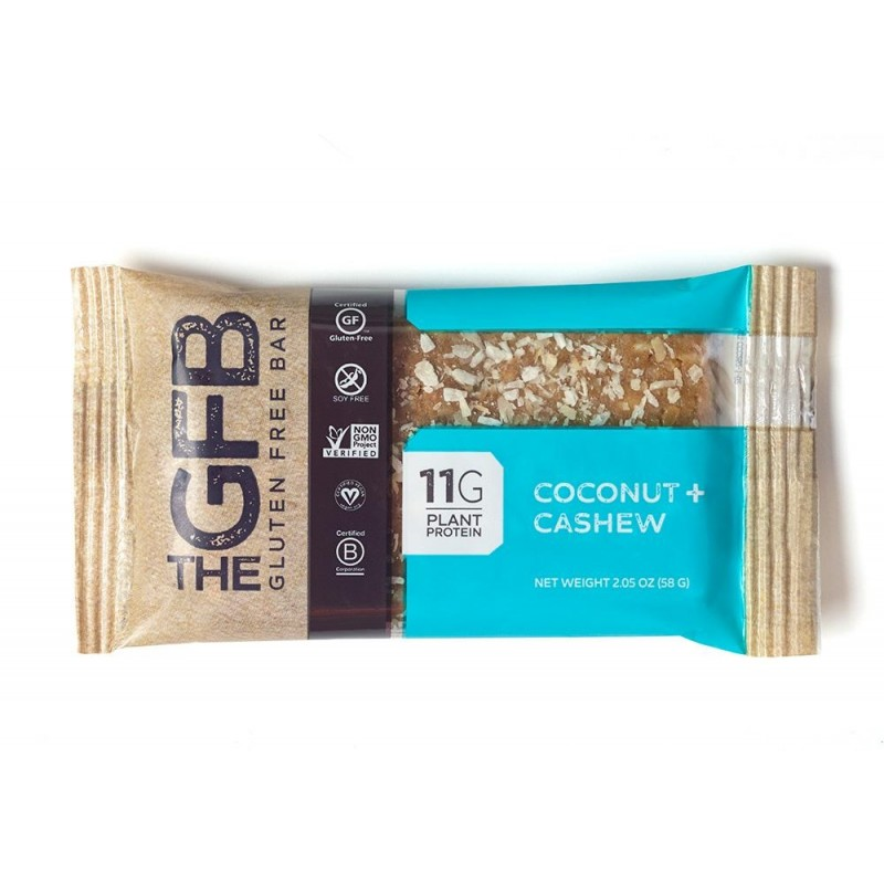 The GFB Gluten Free Bars - Coconut Cashew - 12 Pack/58 Grams
