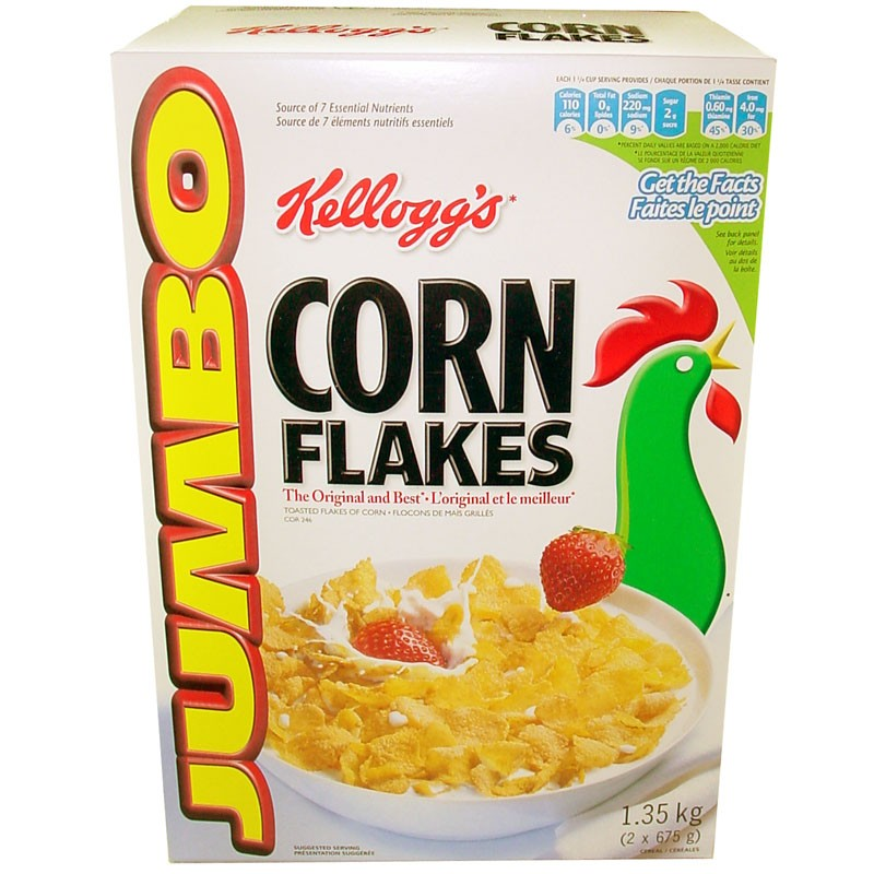 Kelloggs corn flakes cereal jumbo 122 kg ccuart Gallery