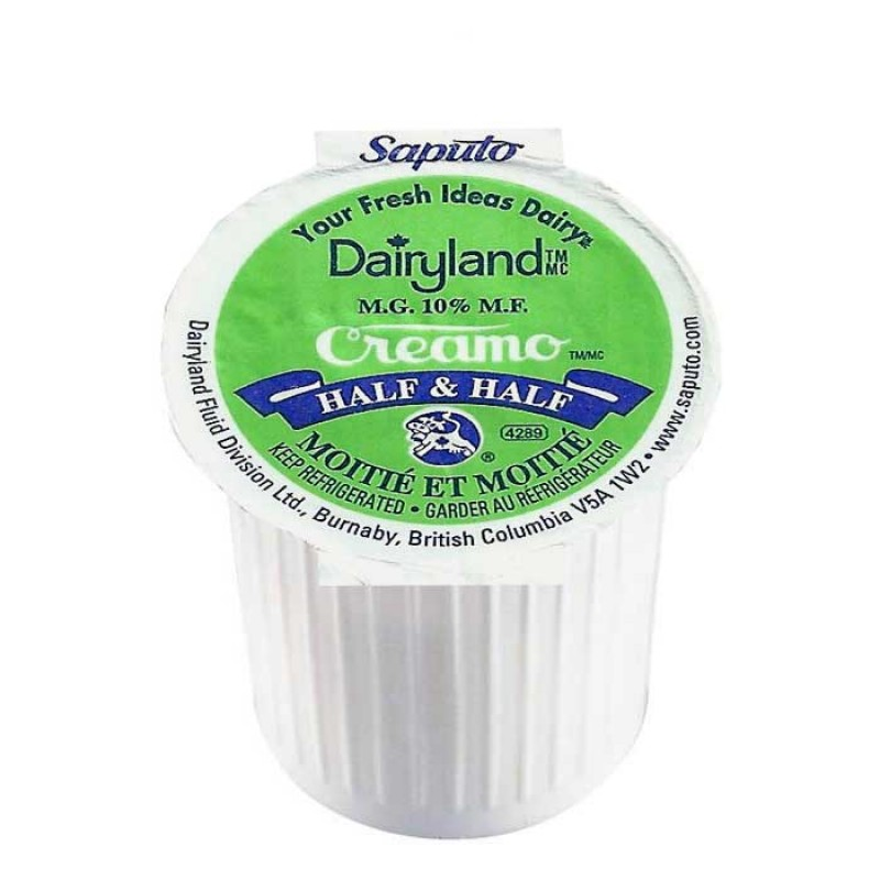 Dairyland Creamo Half & Half Light Cream Portions 160/Pack