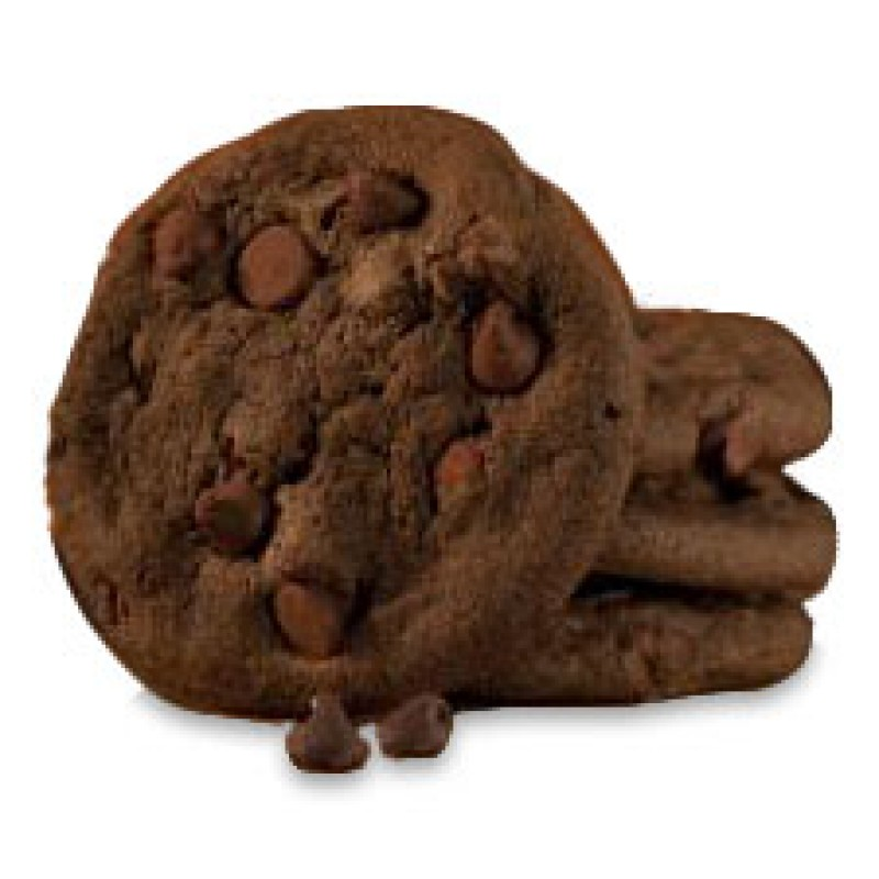 English Bay Batter Double Chocolate Cookies - Frozen Unbaked - 256/28g