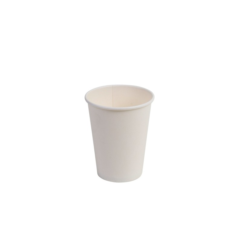 Compostable White Hot Cups 12oz Size 50 pk
