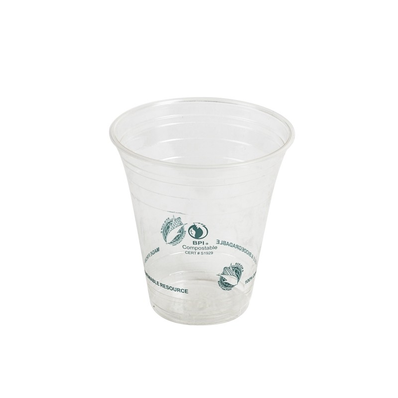 EcoCup Compostable Cold Cups 12 oz 50 pk