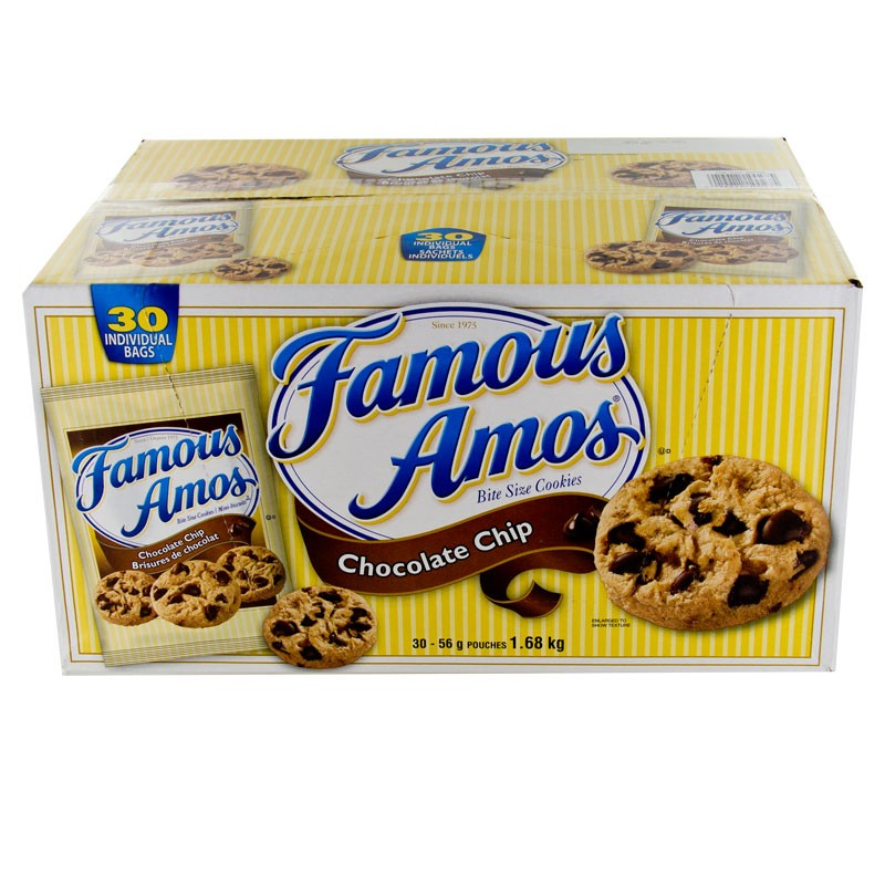 Famous Amos Chocolate Chip Cookies 30/56g