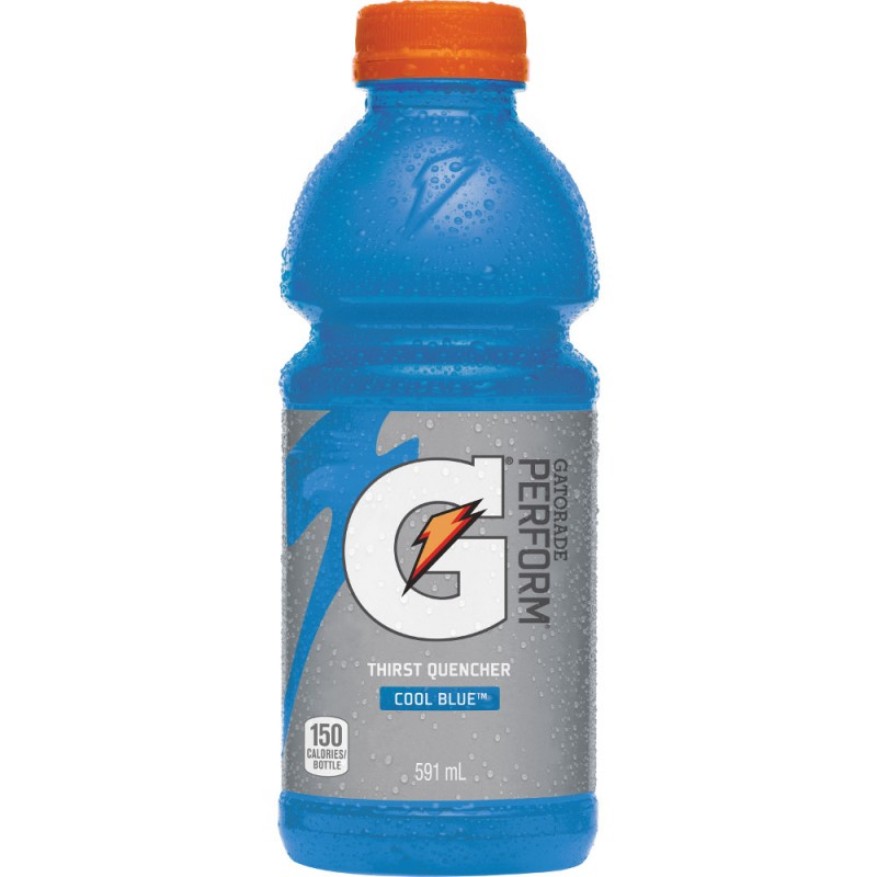 Gatorade Perform Thirst Quencher - Cool Blue Raspberry - 12/591mL