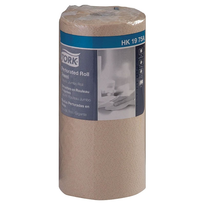 100% Recycled Tork Universal Perforated Paper Towel Rolls - 12 Pack
