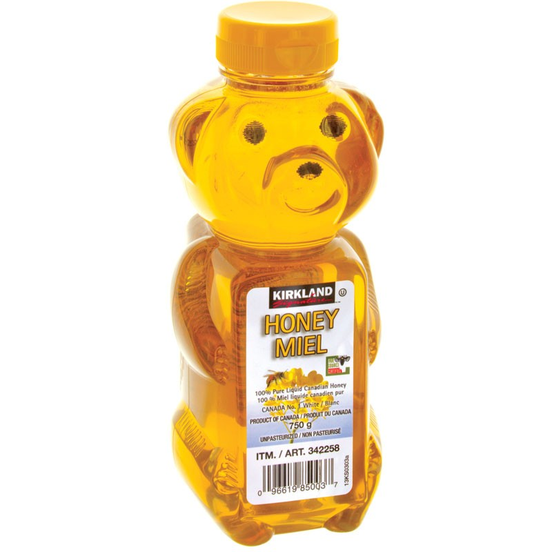 Kirkland Signature Liquid Honey Bear Squeeze Bottle - 750g