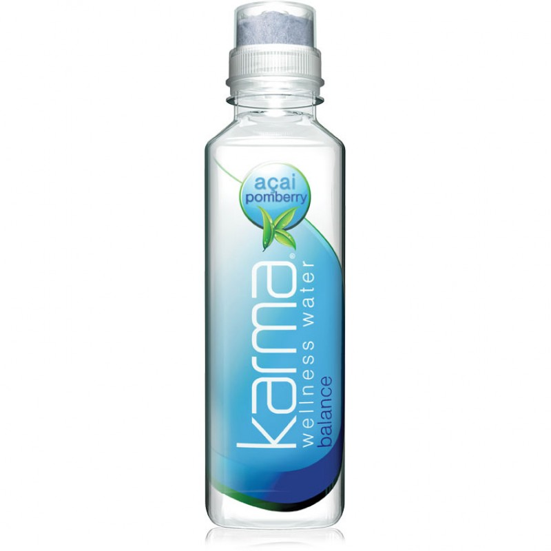 Karma Wellness Water -  Immunity Booster - Açai Pomegranate - 12/532mL