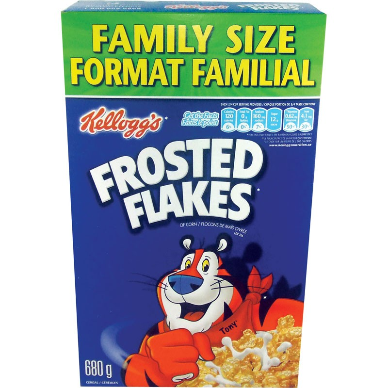 Kellogg's Frosted Flakes Cereal - 650g