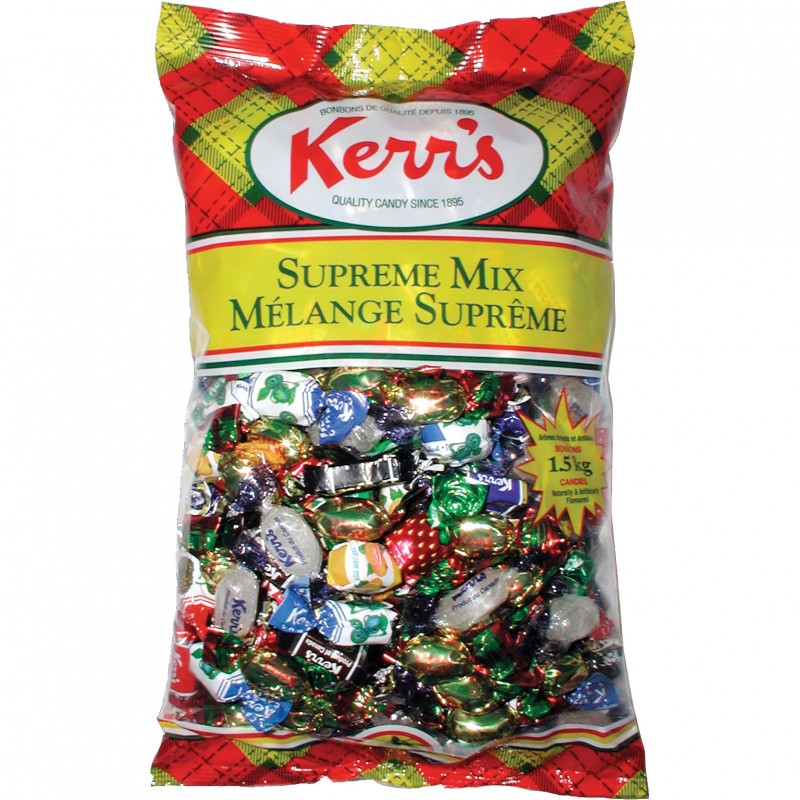 Kerr's Supreme Mix Assorted Hard Candy Jumbo Bag 1.5kg