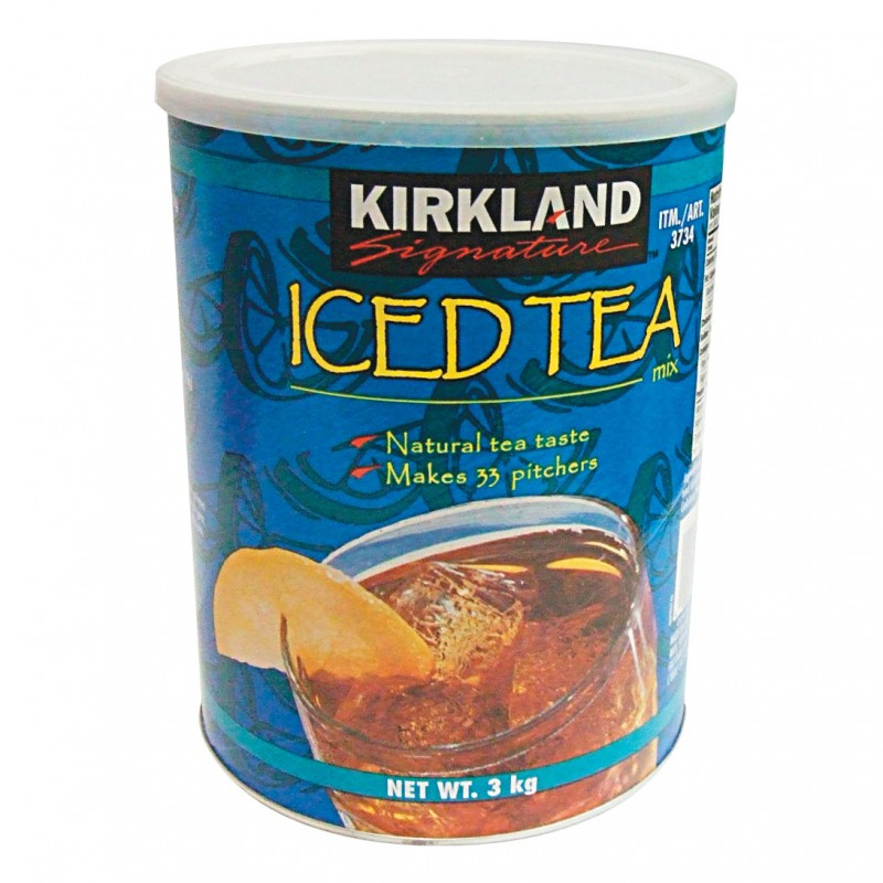 Kirkland Signature Iced Tea Mix - 3kg