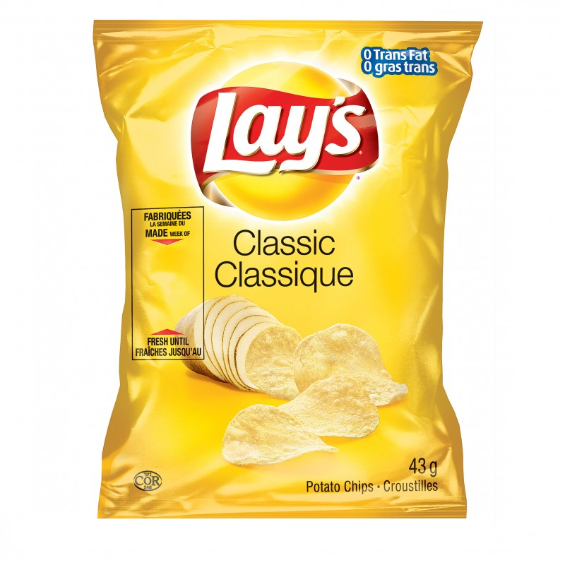Lay's Potato Chips - Classic - 40/43g
