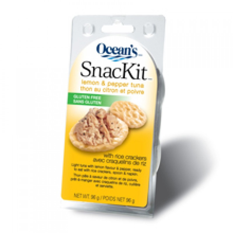 Ocean's Tuna Lemon & Pepper SnacKit  103 g
