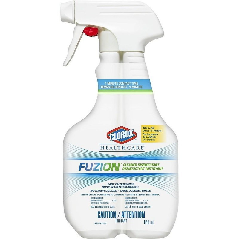 Clorox Healthcare Fuzion Cleaner Disinfectant - 946 mL