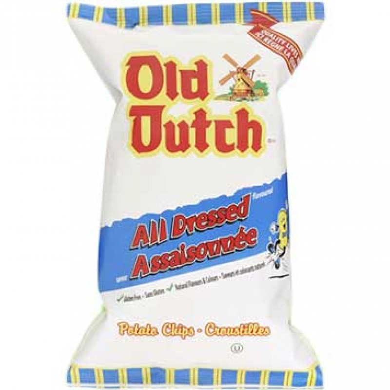 Old Dutch Potato Chips - All Dressed - 40/40g