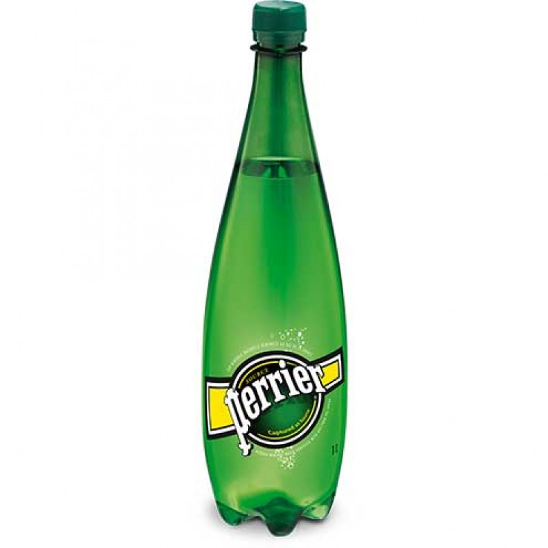 Perrier Sparkling Mineral Water - Large Bottles - 12/1L