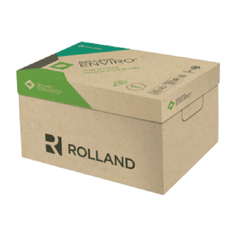 Rolland Enviro 100 Recycled Paper Letter Case 4000/Carton 60lb Text (24lb Bond)