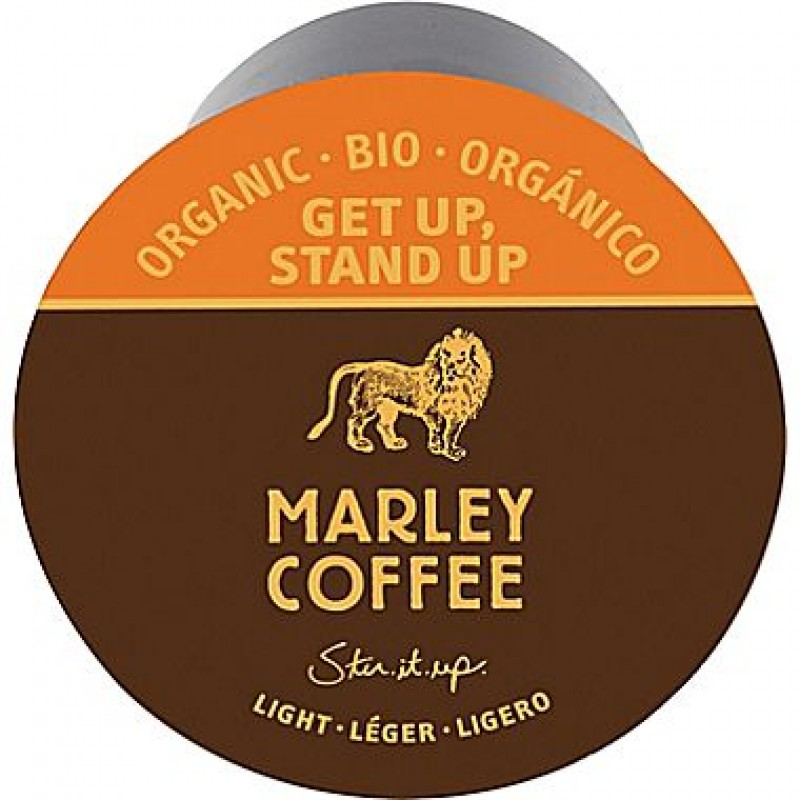 Marley Get Up Stand Up Coffee RealCups 24/Box