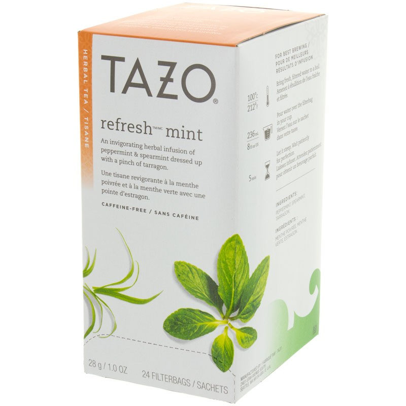 Starbucks Tazo Refresh Tea 24 ct
