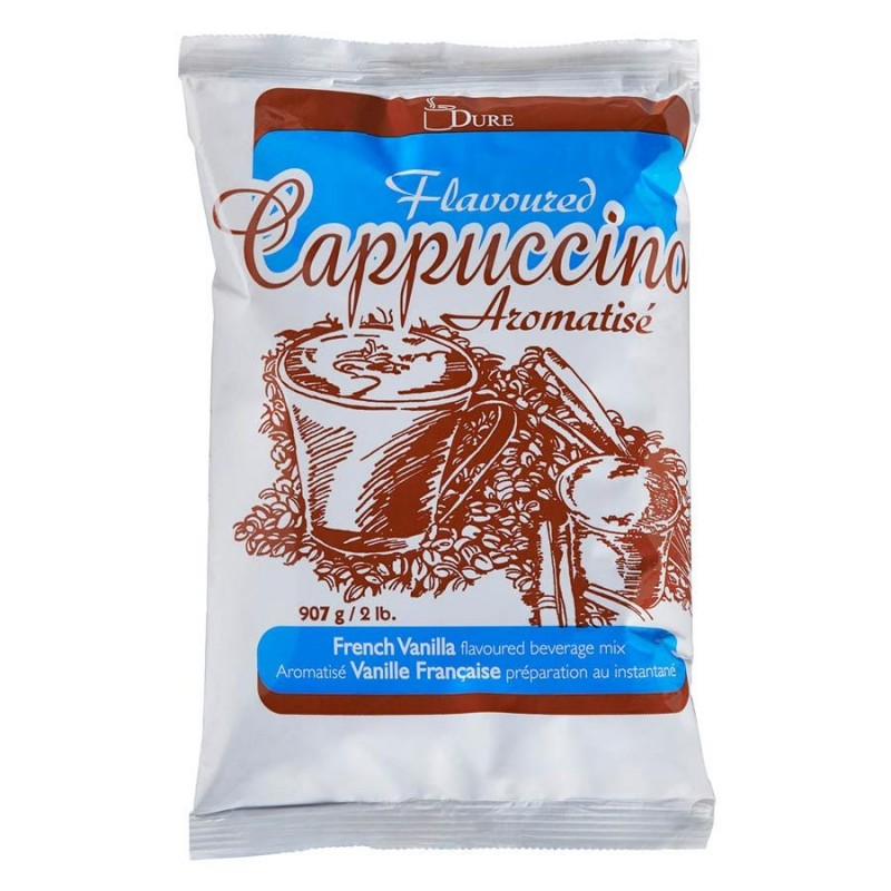 Dure French Vanilla Flavoured Cappuccino Mix - 2lb.