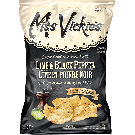 Miss Vickie's Lime & Black Pepper Potato Chips 40/40 g