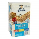 Quaker Chewy Yogurt Granola Bars - Club Pack - 34pk