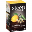 Bigelow Steep Organic Chamomile Citrus Herbal Tea - 20/Box