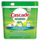 Cascade Power Clean Dishwasher Action Pacs Detergent Tabs - Citrus Scent - 115ct