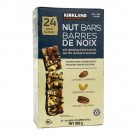 Kirkland Signature Chocolate Drizzle and Sea Salt Nut Bars - 24/40 Grams