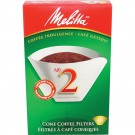 Melitta #2 Style Cone Coffee Filters 40pk