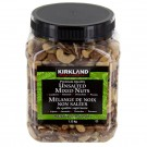 Kirkland Signature Unsalted Mixed Nuts 1.13kg