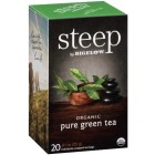 Bigelow Steep Organic Pure Green Tea - 20/Box