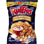 Ruffles Sour Cream and Bacon Chips 48/40 g