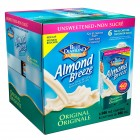 Blue Diamond Almond Breeze Non-Dairy Beverage 6/946mL