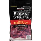 Kirkland Signature Steak Strips - 340 Grams
