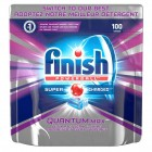 Finish Quantum Max Dishwashing Tabs - 100 Pack